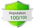 Reputation 100/100